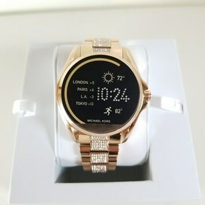 Michael Kors Access Bradshaw Rose Gold-Tone Smart